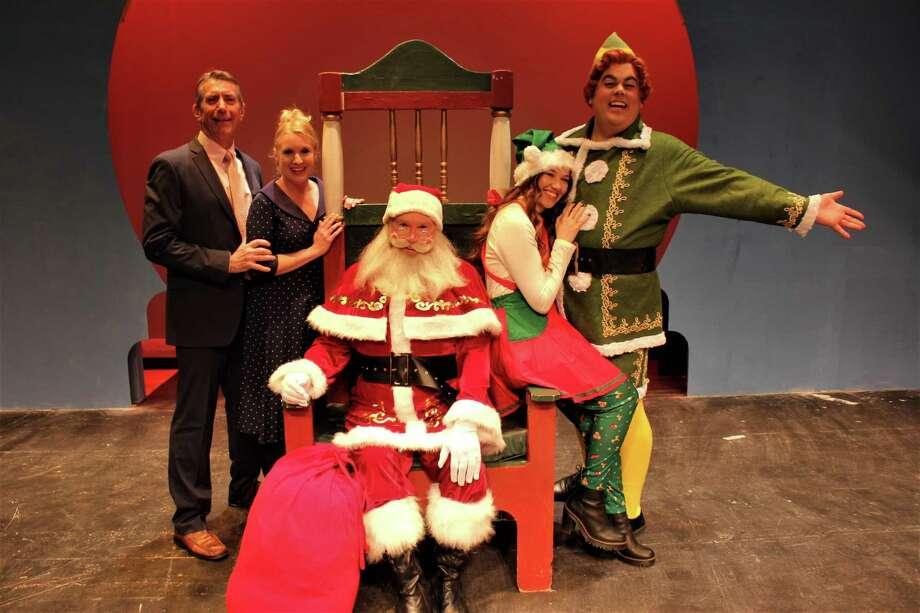 "Seven Angels Theatre in Waterbury presents ""Elf the Musical."" Photo: Seven Angels Theatre / Contributed Photo /"