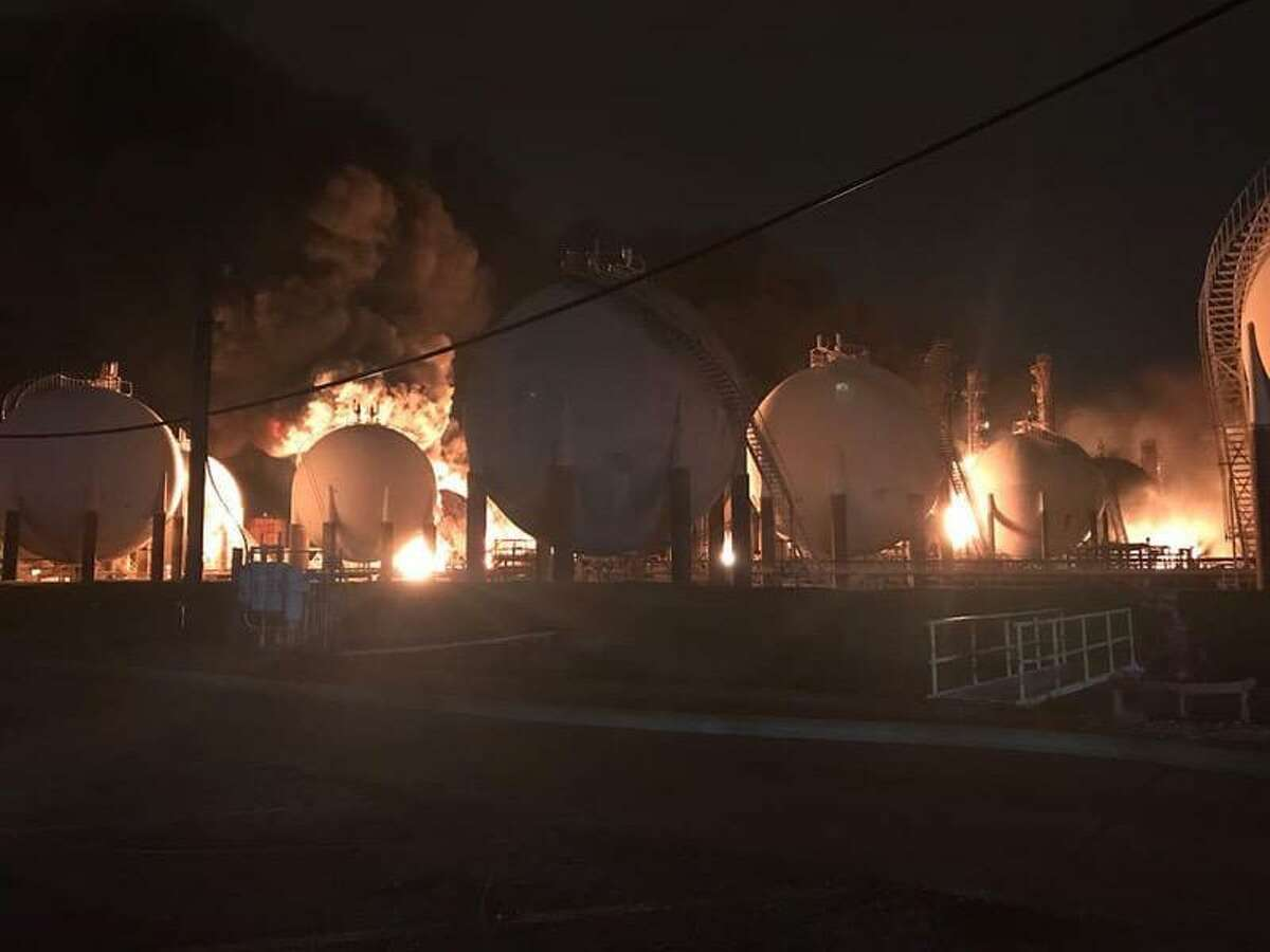 An explosion and fire at TPC Group's Port Neches plant on Nov. 27, 2019 forced some 50,000 residents to leave their homes under a mandatory evacuation. Many were awakened by the blast or left with damage to their homes and vehicles. The Beaumont region topped the list of excessive emissions in 2018 with nearly 64 million pounds of pollution, primarily attributable to a single event at the Beaumont Gas to Gasoline Plant in Jefferson County