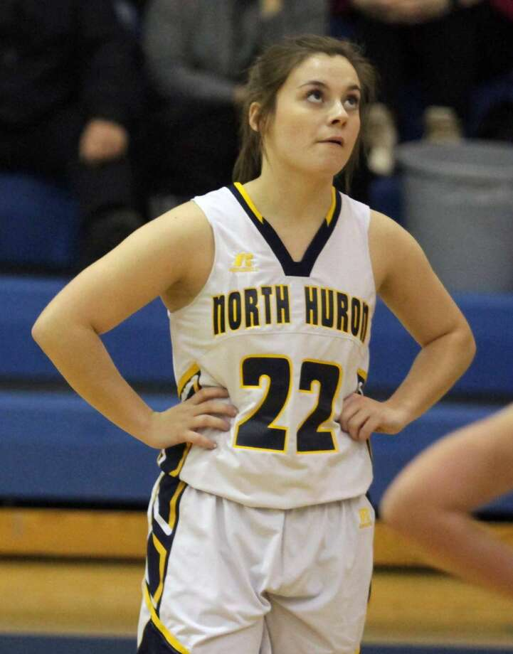 North Huron's girls basketball team topped Owendale-Gagetown by a score of 41-30 on Tuesday, Dec. 17. Photo: Eric Rutter/Huron Daily Tribune, Eric Rutter/Huron Daily Tribune