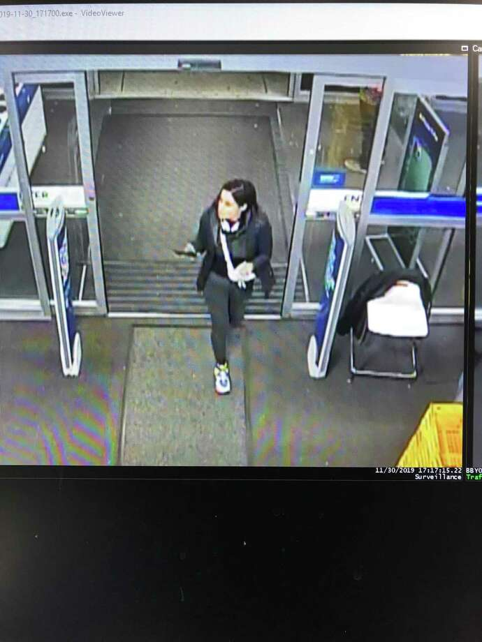 Norwalk Police are looking for a woman suspected of using stolen cards for purchases on Nov. 30. Photo: Norwalk Police Department