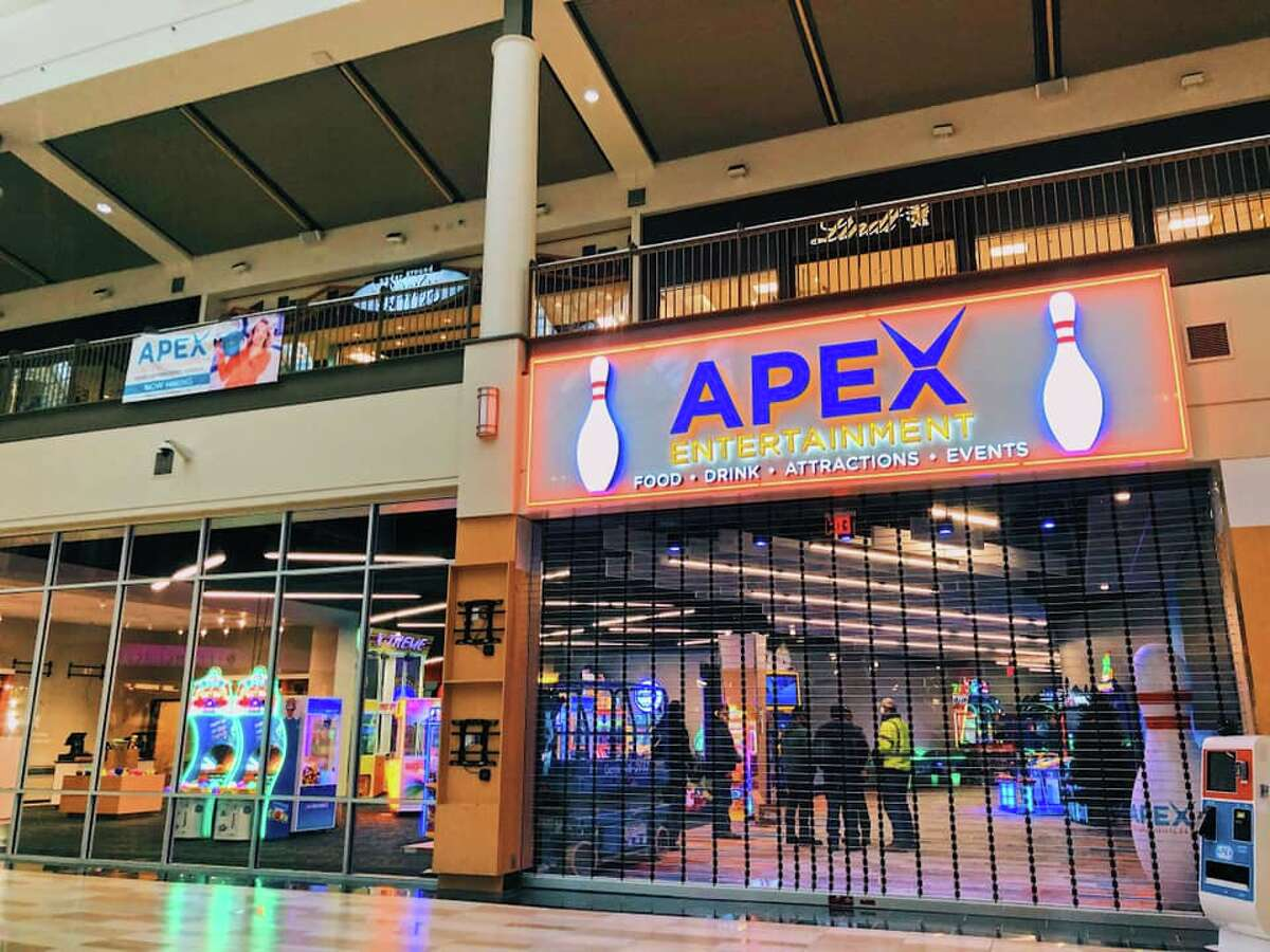 Apex Entertainment at Crossgates Mall in Albany. Keep clicking for more restaurants opened, closed or coming soon.