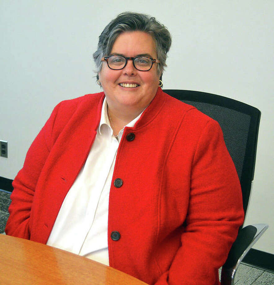 Denise Cobb, who is the provost and vice chancellor for academic affairs at SIUE, has been named to the GeoFutures Advisory Committee in St. Louis. Photo: Scott Marion|The Intelligencer