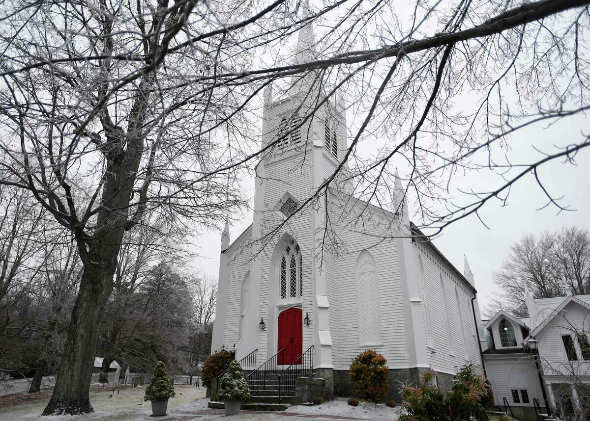 Christ Episcopal Church Tashua in Trumbull, Conn. on Tuesday, December 17, 2018.