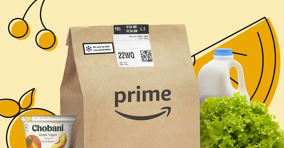 Amazon is bringing its grocery delivery service to San Antonio, offering products to be delivered at your doorstep in one or two hours. Photo: Amazon