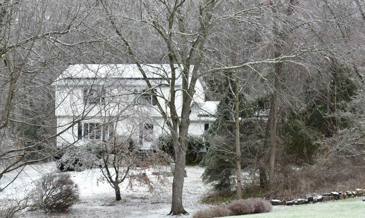 A home listed for sale in mid-December 2019 on Briar Cliff Manor in Bethel, Conn.