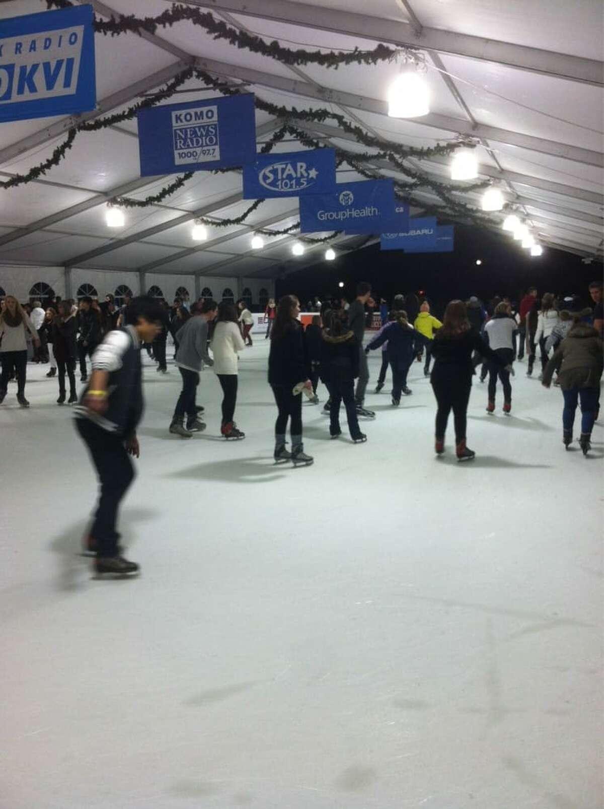 Bellevue Downtown Ice Rink, Bellevue: $15 Fri-Sun and holidays
