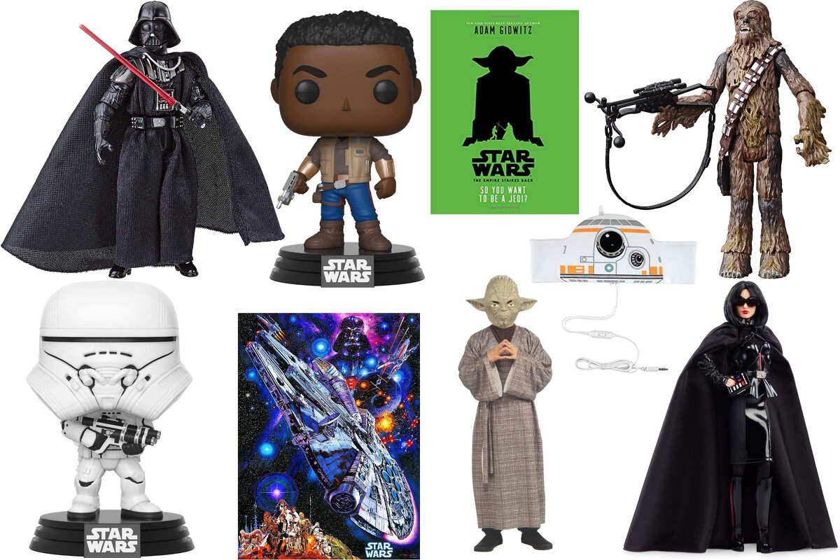 Amazon is featuring Star Wars toys, book and collectibles in its Wednesday Deal of the Day.