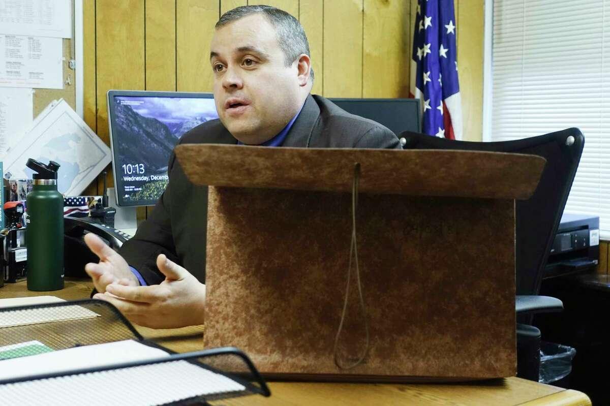 Bethlehem Police Commander Adam Hornick(Paul Buckowski/Times Union)