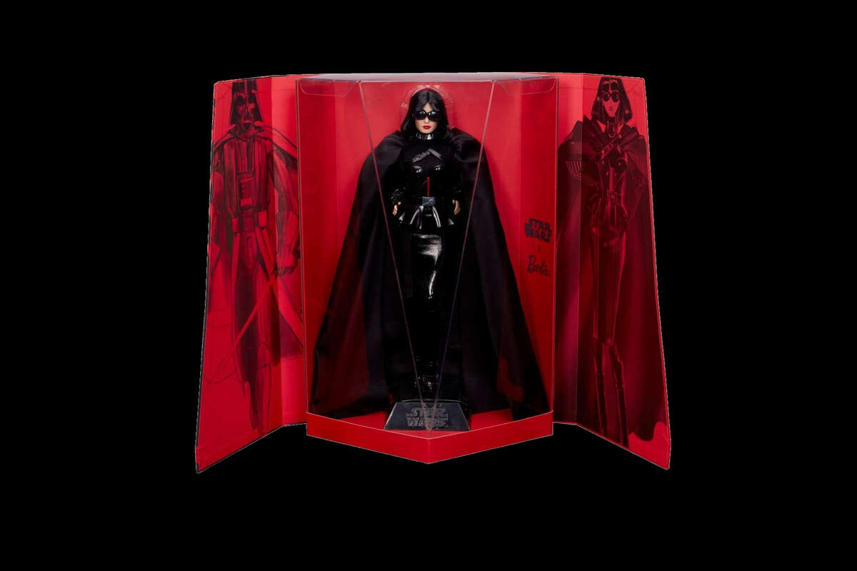 Barbie has gone to the dark side in this Star Wars collaboration.