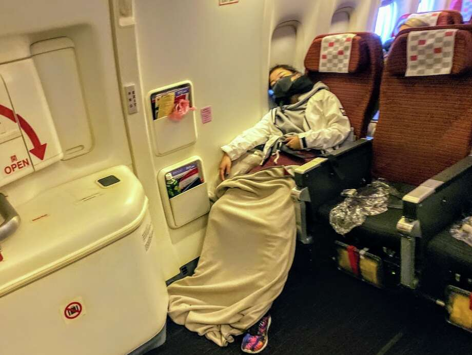 Window seats are not always best for sleeping according to a new survey of 1,000 travelers. Photo: Chris McGinnis