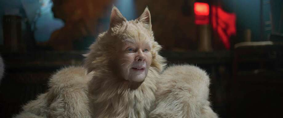 Judi Dench in a scene from 'Cats.' (Universal Pictures/TNS) Photo: Universal Pictures, MBR / TNS / TNS