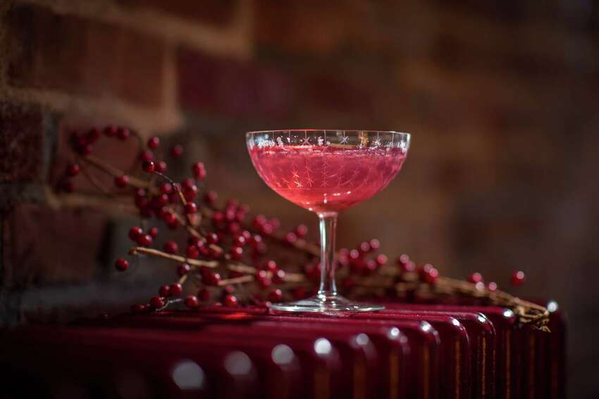 A nonalcoholic drink featured on Hamlet & Ghost's winter menu. (Photo by Shawn LaChapelle Photography)