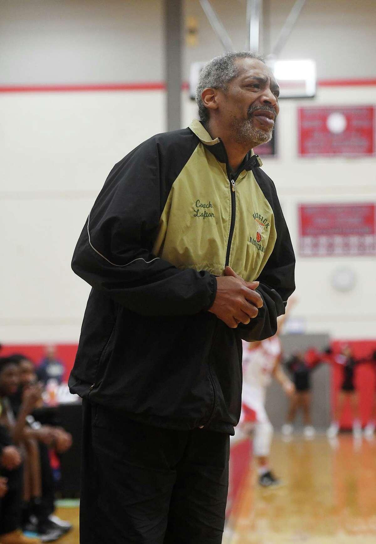 Bassick boys basketball coach Bernie Lofton.