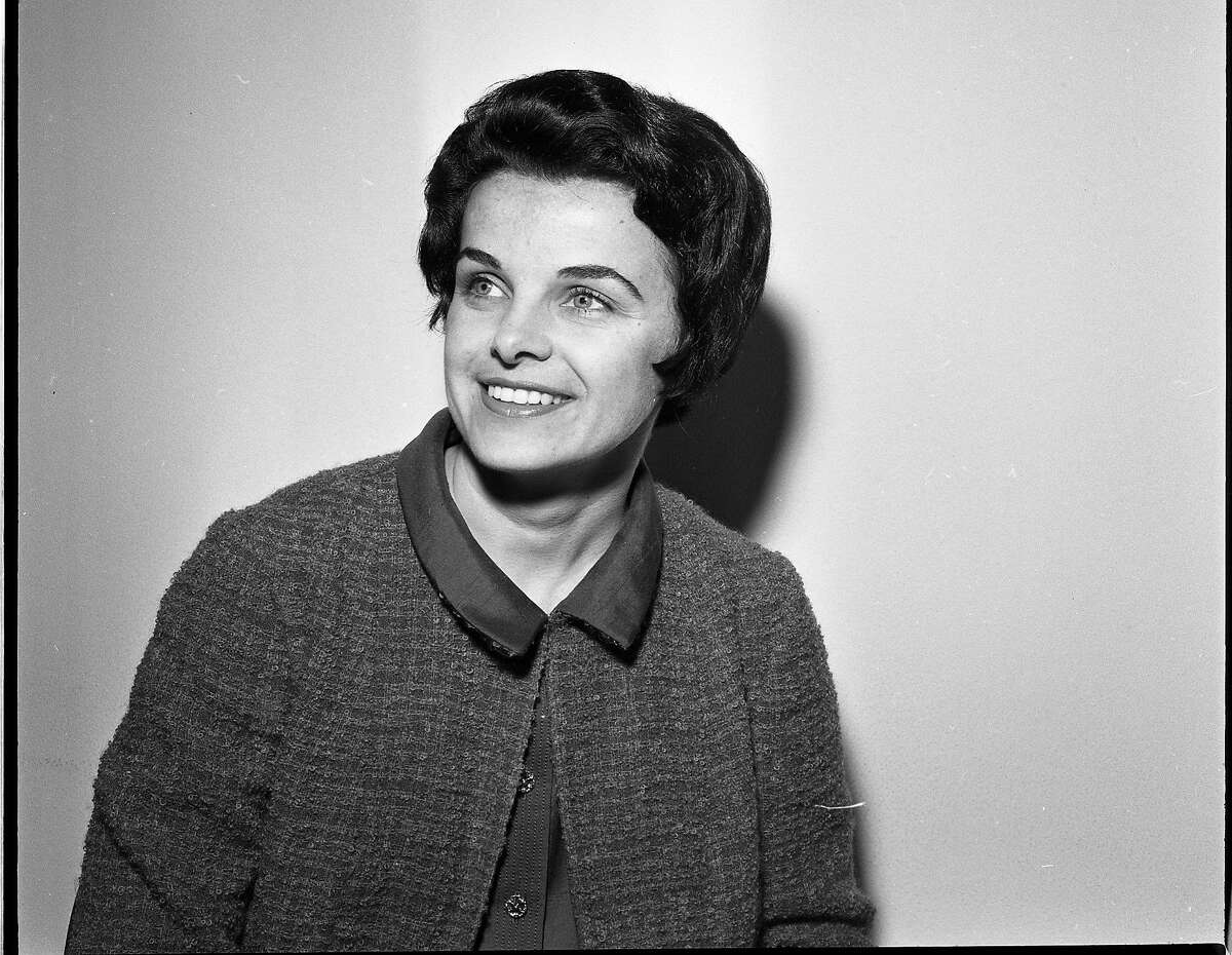 Dianne Feinstein, member of the California Women's Board of Terms and Paroles, June 24, 1964