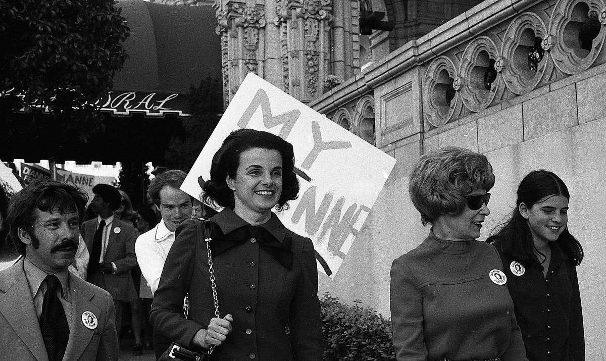 Supervisor Dianne Feinstein running for Mayor, October 6, 1971