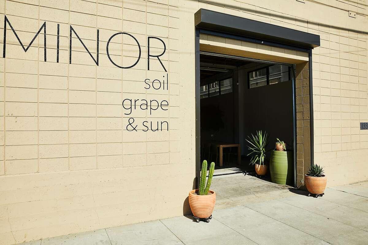 Vinca Minor's tasting room in Berkeley opened in July 2019.