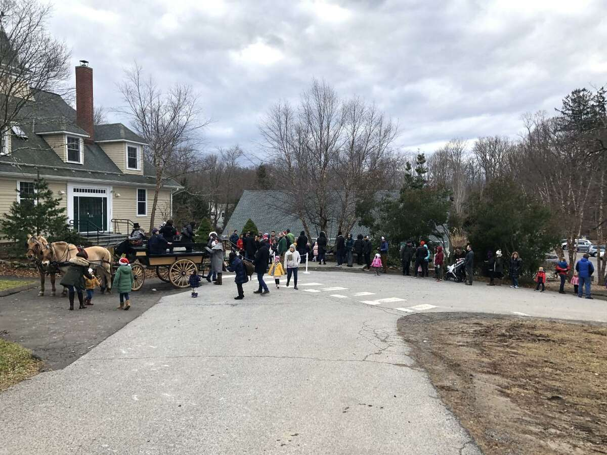 The New Canaan Nature Center holds its Winter Wonderland event on Sunday, December 15, 2019.