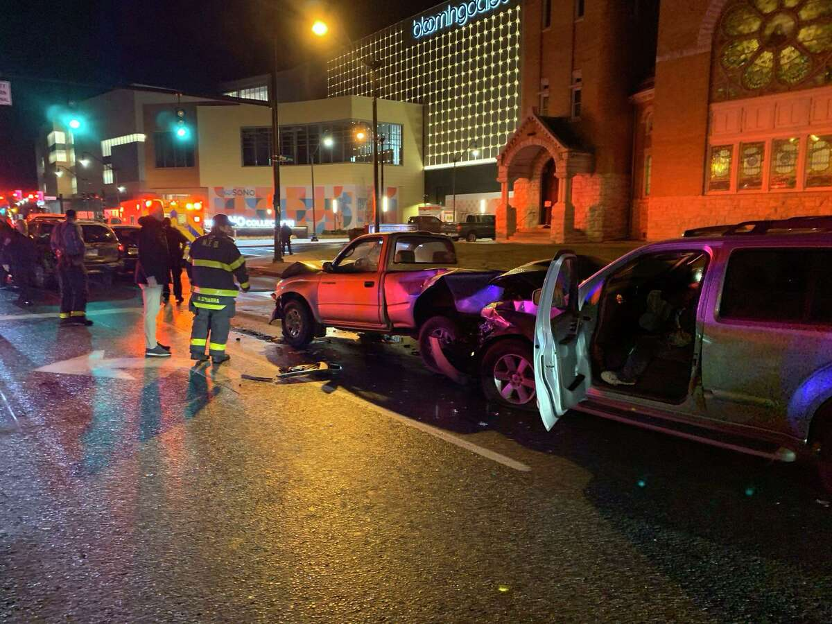 A multi-vehicle crash on West Avenue in Norwalk, Conn., on Dec. 18, 2019, was cleared in less than an hour.