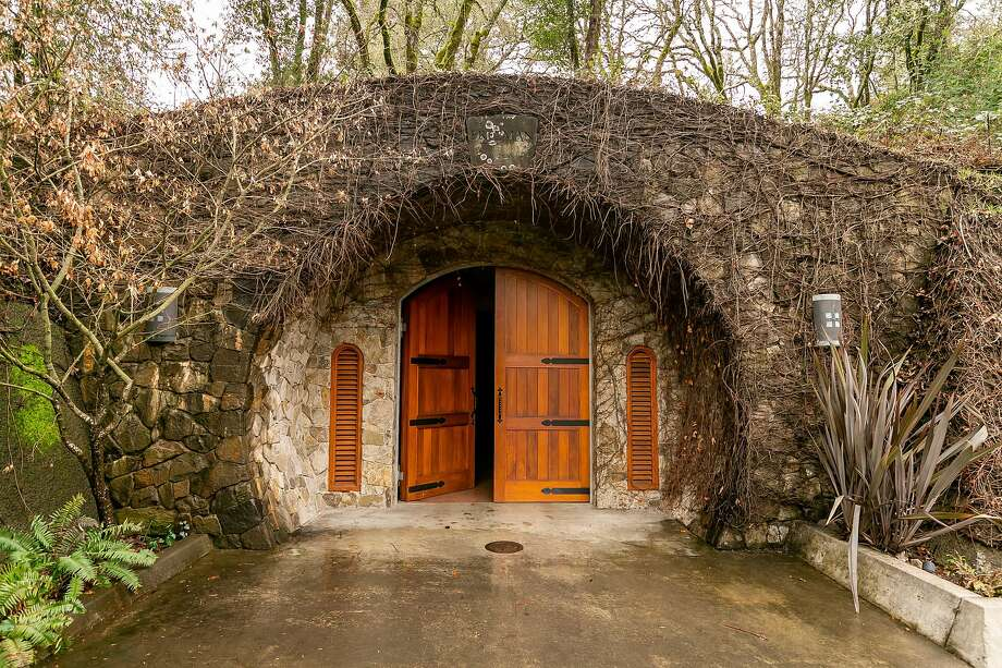 The exterior of the Freeman Winery cave in Sebastopol. Photo: John Storey / Special To The Chronicle 2019