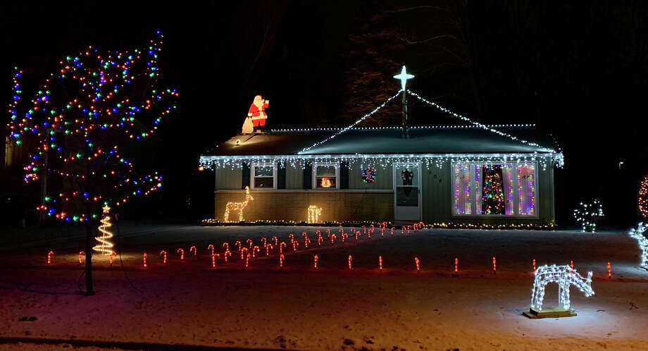 Christmas decorations from around Midland, Bullock Creek, Sanford, and Freeland. Photo: Fred Kelly/fred.kelly@mdn.net