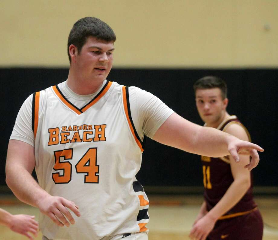 The Harbor Beach Pirates moved to 2-1 on the season after a 55-53 victory over Reese on Wednesday, Dec. 21. Photo: Eric Rutter/Huron Daily Tribune