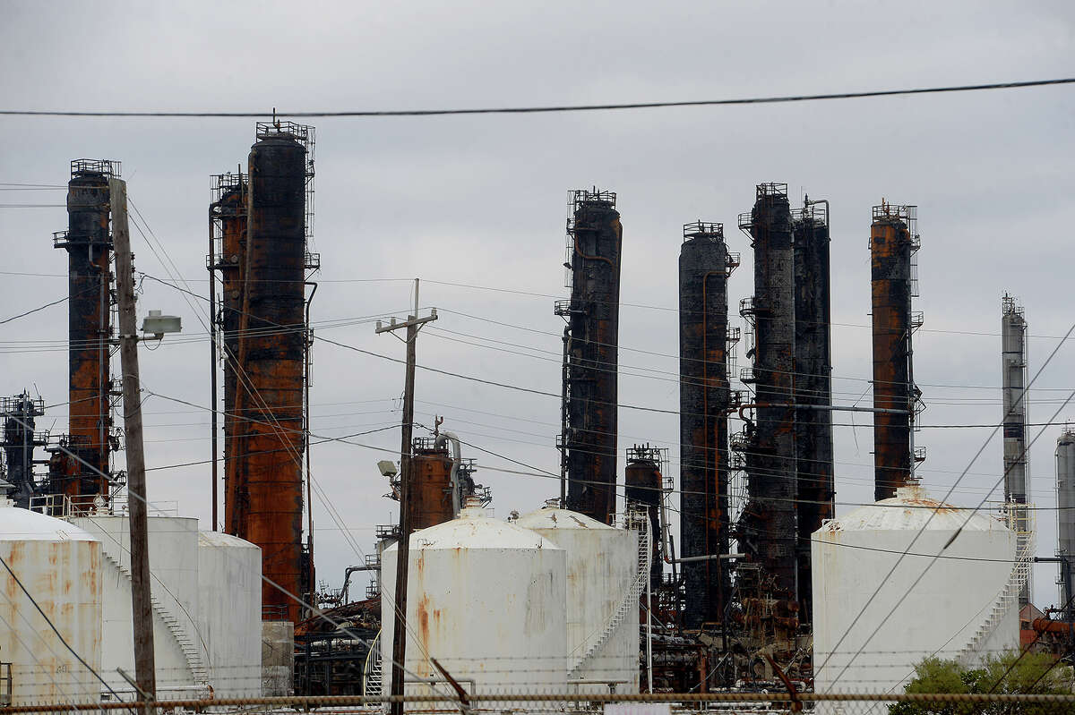 The TPC Group plant in Port Neches is among those cited by Environment Texas for elevated emissions last year. Photo taken Tuesday, December 17, 2019 Kim Brent/The Enterprise