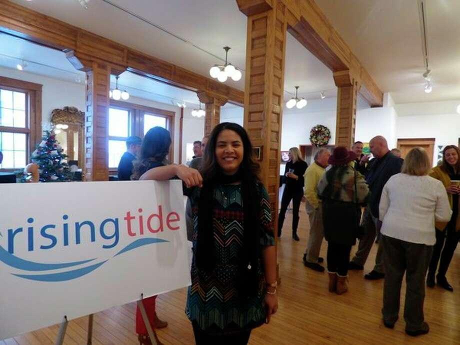 Rising Tide resident fellow, Lissette Reyeswill end her term on Dec. 20. (Scott Fraley/News Advocate)