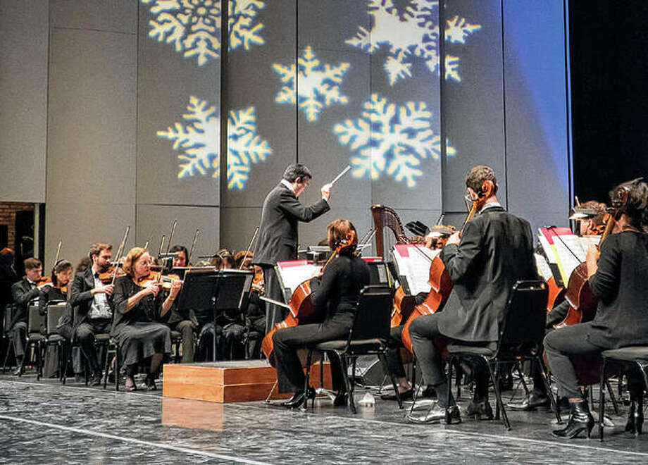 The Illinois Symphony Orchestra will present its holiday concert at 7:30 p.m. Saturday at the University of Illinois-Springfield's Sangamon Auditorium. Photo: Illinois Symphony Orchestra