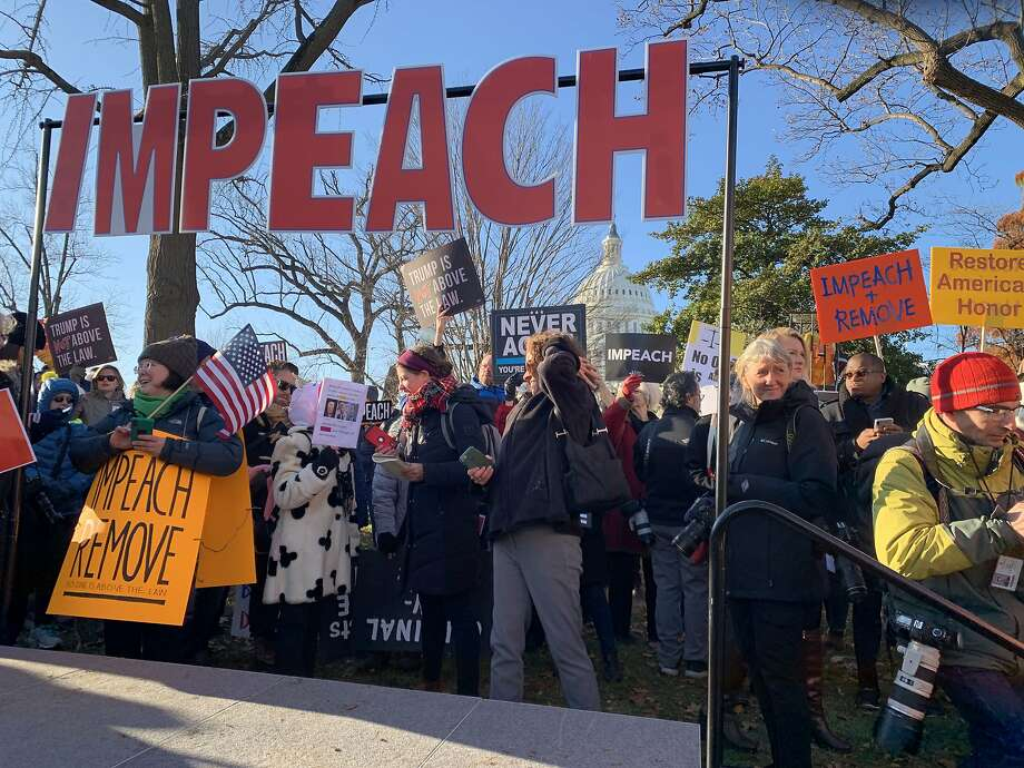 """What is impeachment? It's the constitutionally prescribed method for the legislative branch to remove a president, vice president and """"all civil officers"""" — which has been construed to include judges and members of a president's cabinet. Photo: Sarah L. Voisin, The Washington Post"""