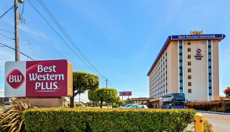 At the Best Western Plus near SFO, you can park for just $8 per day and take the hotel shuttle to the airport. Photo: Best Western