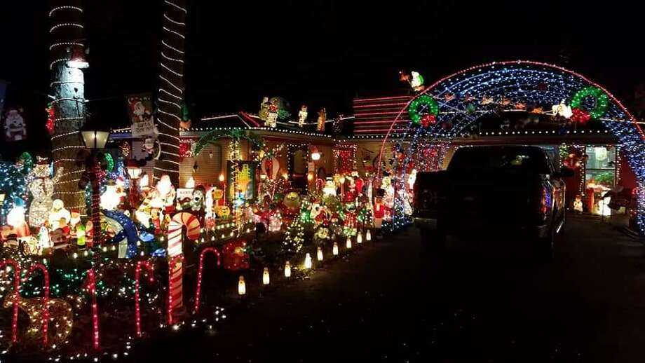 """On Saturday night, Bad Bob's Christmas Bashon the Lawnemerges out-of-doors at the home of """"Bad"""" Bob Price, 103 South Delmont West, in the Conroe neighborhood where the Prices reside. Photo: Courtesy Photo"""