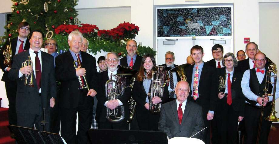 Pictured is a scene from the 2015 Danbury Brass Band Christmas concert, which returns Dec. 22. Photo: Danbury Brass Band / Contributed Photo