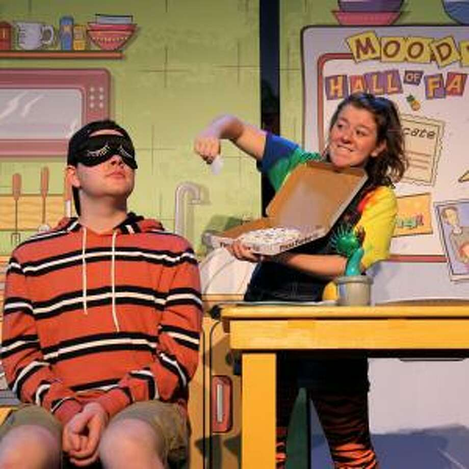 "Frank Monier and Erin Lynn Hassett in ArtsPower's ""Judy Moody & Stink,"" which will be at the Westport Playhouse for two performances Jan. 12. Photo: Westport Country Playhouse / Contributed Photo"