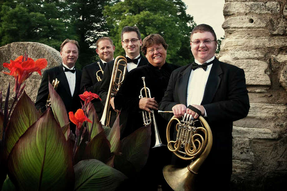 "Clarion Brass, founded in 1994, is St. Louis' premier brass quintet. A five-piece ensemble will perform Friday at Opera Edwardsville's second annual ""Christmas at The Wildey."" Photo: For The Intelligencer"