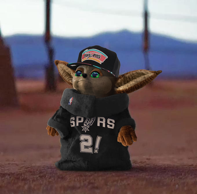 Meet Baby Yote The Spurs Version Of Baby Yoda Sfchronicle Com