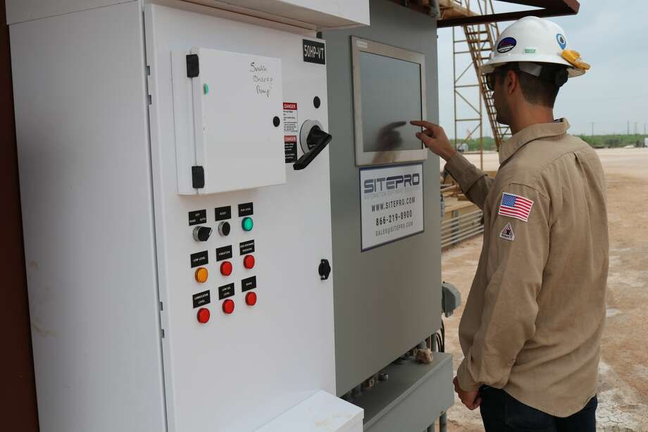 With the acquisition of Integrated Control Solutions, SitePro of Lubbock now has over 1,000 sites, from production facilities to saltwater disposal sites, utilizing its automation technology. Photo: Courtesy SitePro