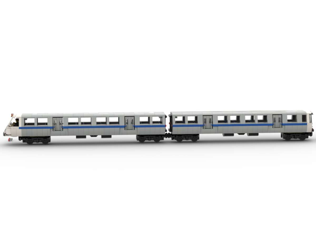 This design for a Lego BART train needs 10,000 votes from the public to be sold commercially.