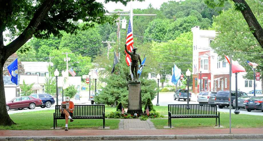 File photo of P.T. Barnum Square on Monday, July 11, 2016, in Bethel, Conn. Photo: H John Voorhees III / Hearst Connecticut Media / The News-Times