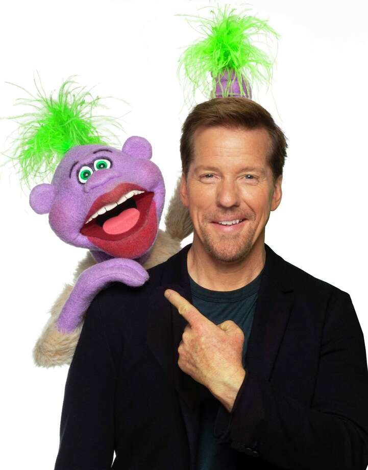 """Comedian Jeff Dunham, seen here with Peanut, brings his new international tour, """"Jeff Dunham: Seriously!?"""" to the XL Center in Hartford, Jan. 8. Photo: Contributed Photo"""