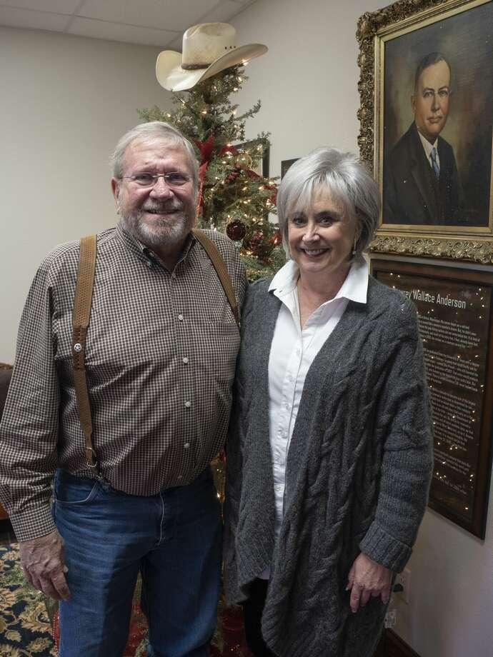 Mike and Brenda Harrison, recently donated $10 million to TCU. Photo: Tim Fischer/Midland Reporter-Telegram