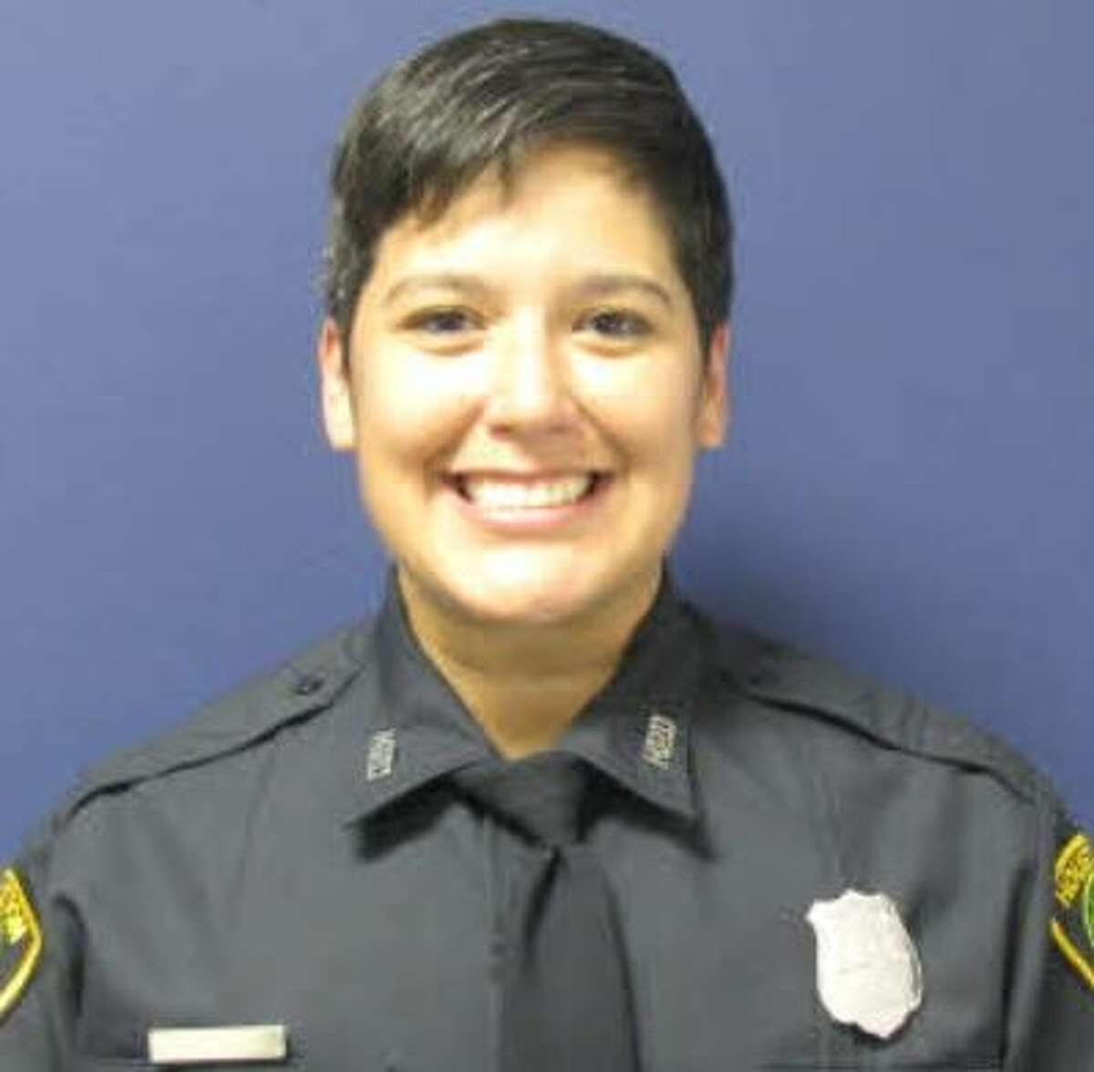 Houston Police Department officer Gizelle Solorio was killed in a crash near Sealy on Thursday, Dec. 19, 2019.