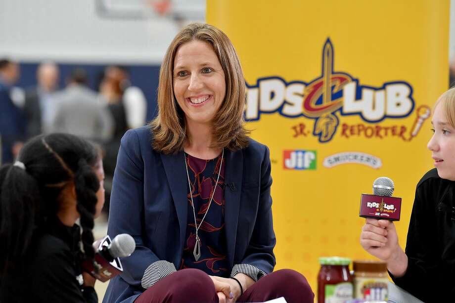 INDEPENDENCE, OHIO - SEPTEMBER 30: Assistant coach Lindsay Gottlieb of the Cleveland Cavaliers during Cleveland Cavaliers Media Day at Cleveland Clinic Courts on September 30, 2019 in Independence, Ohio. NOTE TO USER: User expressly acknowledges and agrees that, by downloading and/or using this photograph, user is consenting to the terms and conditions of the Getty Images License Agreement. (Photo by Jason Miller/Getty Images) Photo: Jason Miller / Getty Images