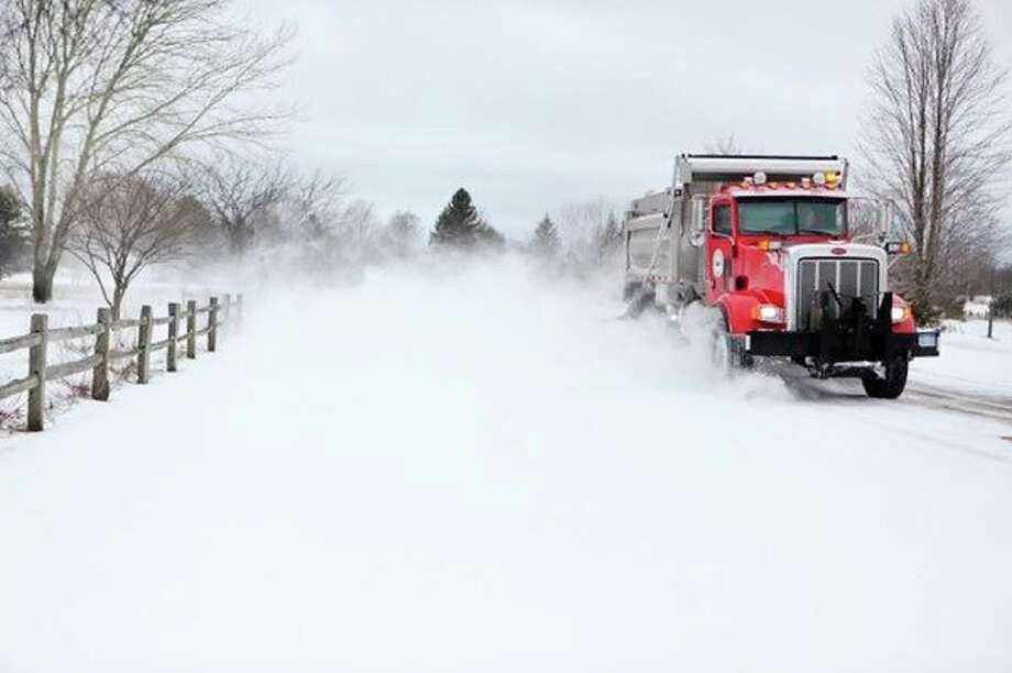 Responsibility for clearing roads from snow, and policies regarding knocked over mailboxes, varies by county, city and village. (Pioneer file photo)