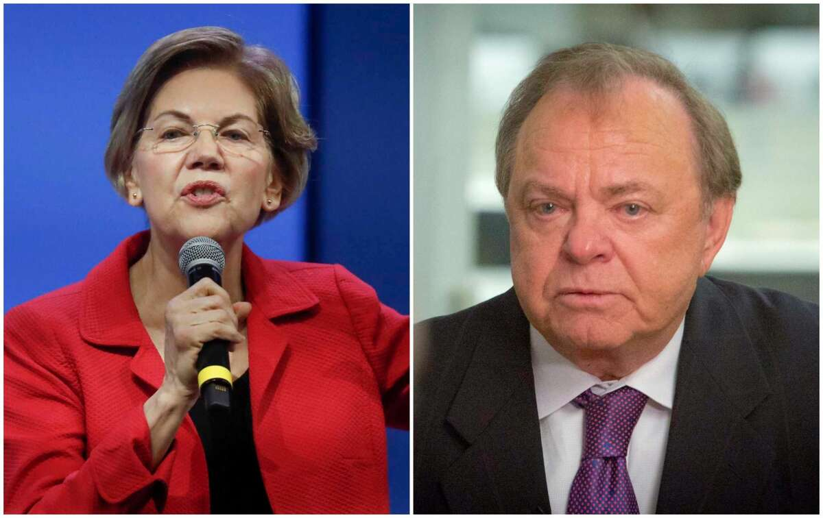 Billionaire wildcatter Harold Hamm has invited Democratic presidential contender Elizabeth Warren to visit the U.S. shale heartland. NEXT: See things you should know about Elizabeth Warren's time living in Houston.
