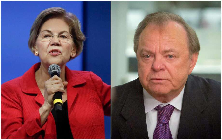 Billionaire wildcatter Harold Hamm has invited Democratic presidential contender Elizabeth Warren to visit the U.S. shale heartland. NEXT: See things you should know about Elizabeth Warren's time living in Houston. Photo: Associated Press Photos
