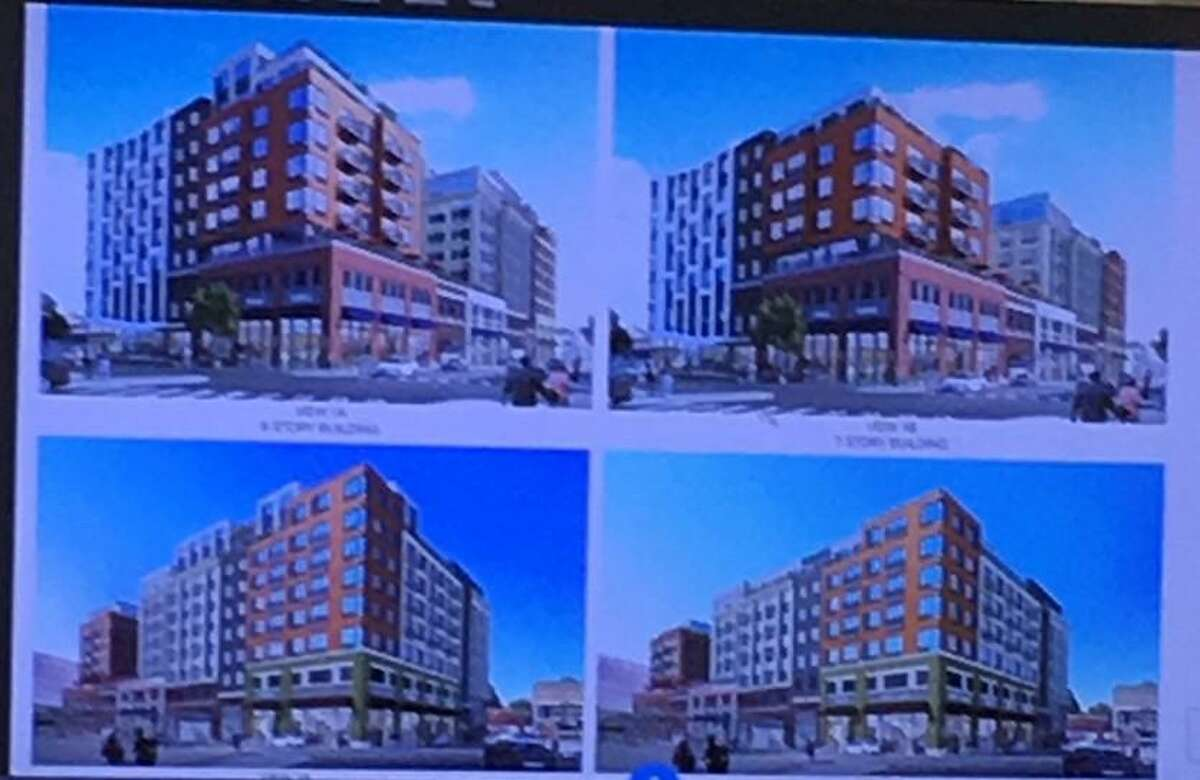 A modified version of an apartment complex is being proposed in Port Chester.