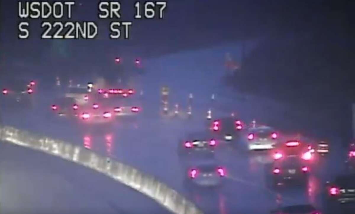 On places like S.R. 167, it's going to be wet out there. (File photo)