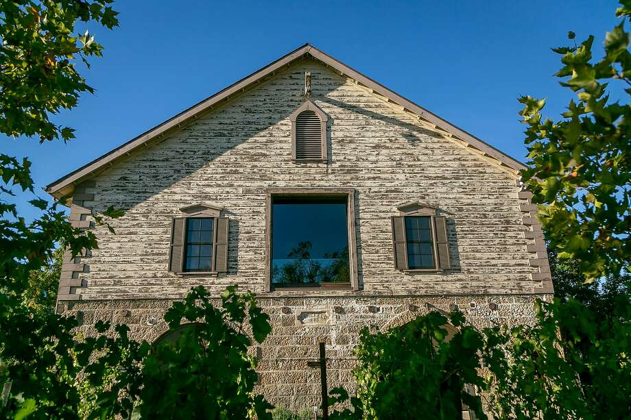 The exterior of one of Hall Winery's buildings, constructed in the 1800s. The grounds also include a more modern building with an art gallery. Photo: John Storey / Special To The Chronicle