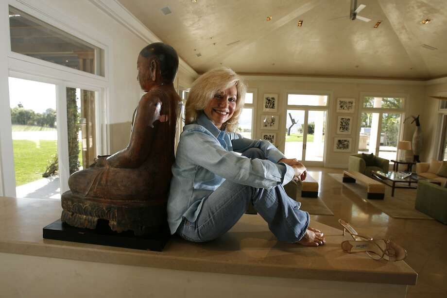 Kathryn Hall, former ambassador to Austria and the owner of Hall Winery, at her home in Napa. Photo: Eric Luse / The Chronicle 2007