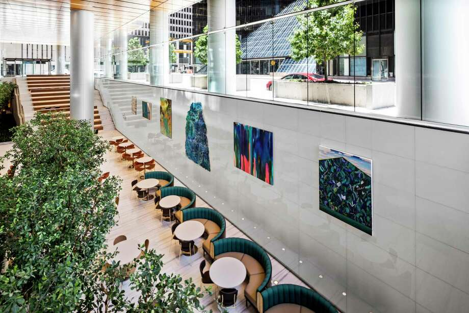 Understory, a 35,00-square-foot community hub and culinary market, is one of the amenities in downtown Houston's Bank of America Tower at 800 Capitol. Photo: Understory / Understory